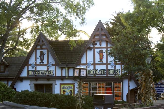 Chocolate House in HersheyPark amusement park