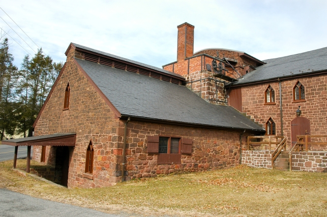 Cornwall Iron Furnace, a National Historic Landmark